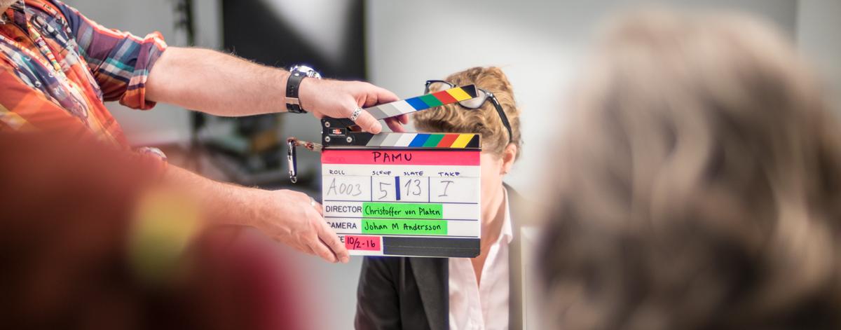 Filmklappa produktionsbolag beställningsfilm utbildningsfilm informationsfilm