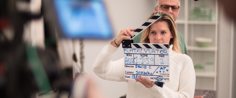 Filmbyrå filmproduktion filmklappa